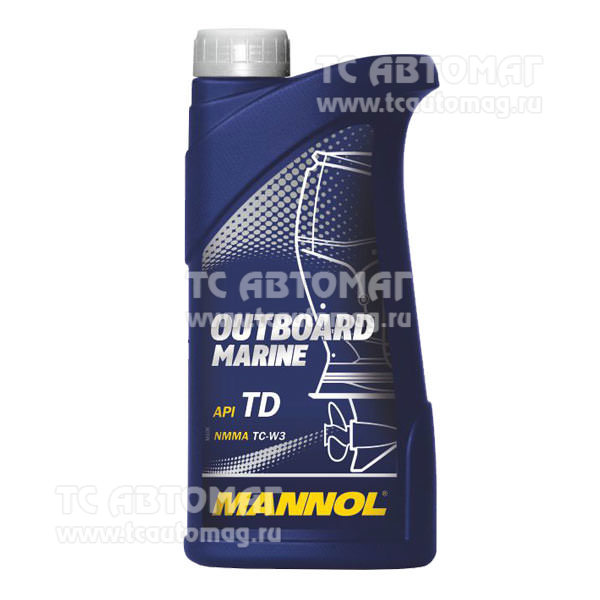 Масло Mannol OUTBOARD для лодок 1л.